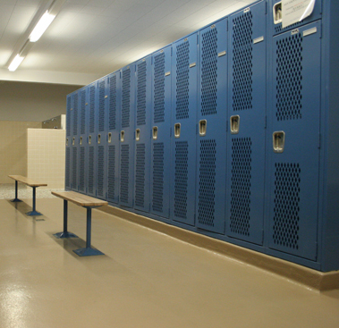 Gym Lockers Unlimited Colors
